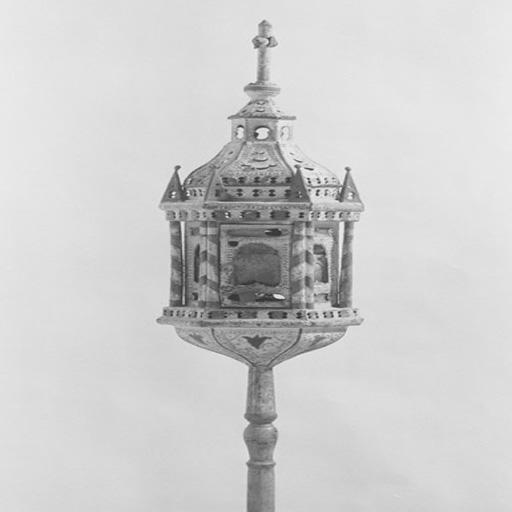 2 lanternes de procession (paire).