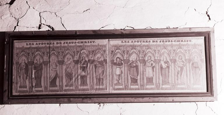 estampe : les apôtres