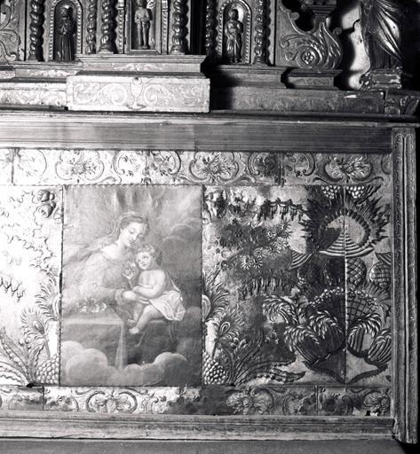 devant d'autel, antependium No 1 de l'ensemble du maître-autel