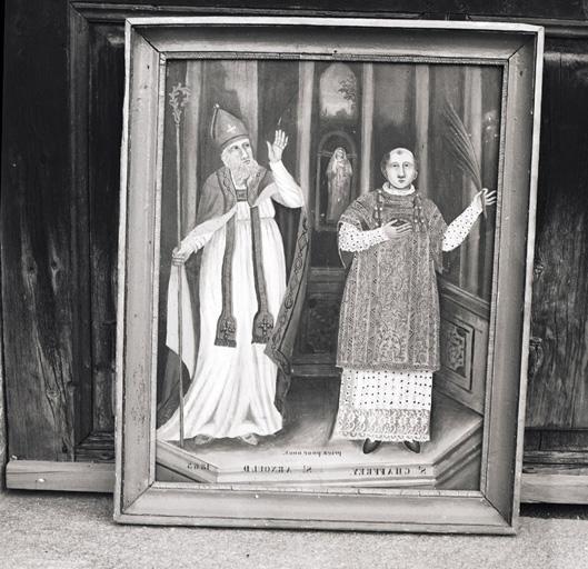 tableau : saint Chaffrey et saint Arnoul