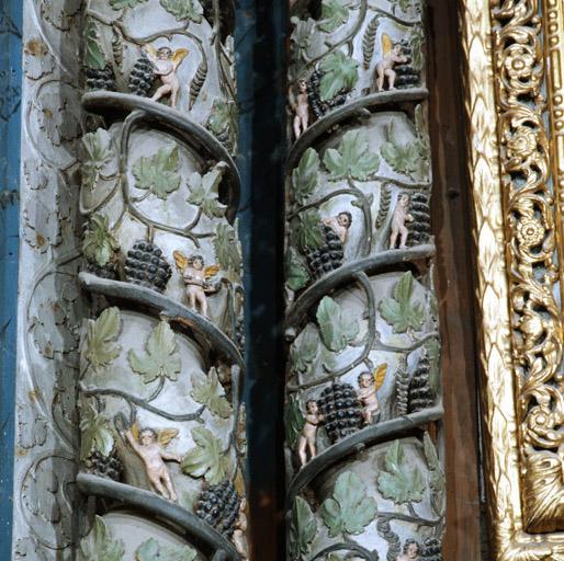 Retable (retable du maître-autel, retable à ailes, retable architecturé).