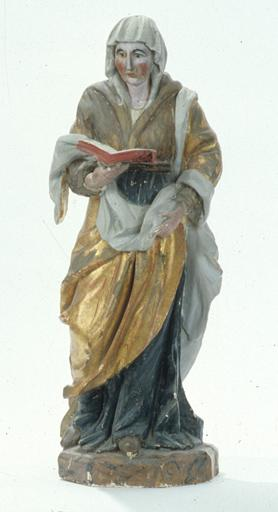 Statue : Sainte Anne.