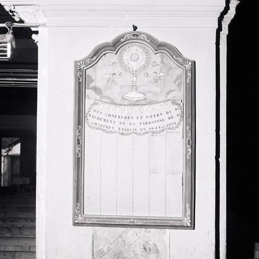 tableau de congrégation, de la confrérie du Saint-Sacrement