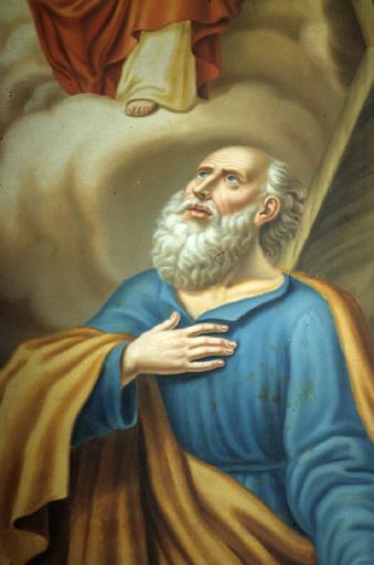 tableau : saint Jacques-le-Majeur et saint André