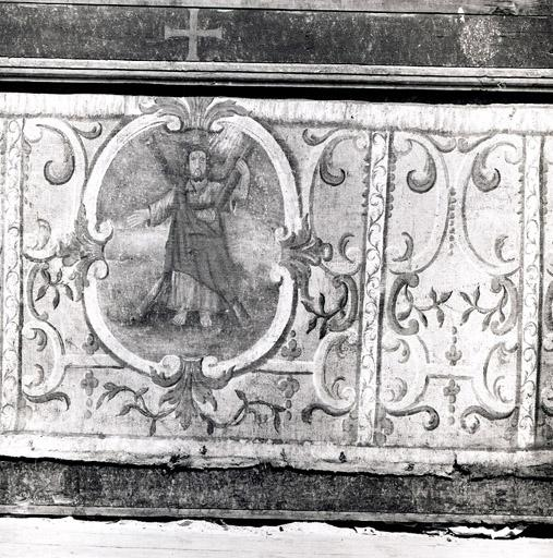 antependium de l'ensemble du maître-autel