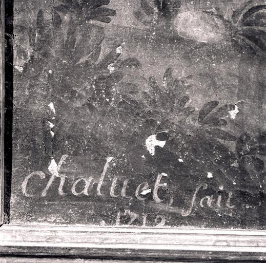 Tableau : Saint Jacques le Majeur.