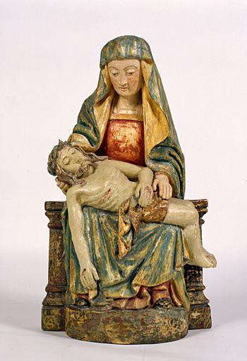 Statuette : Vierge de Pitié (1)