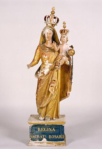 Statuette : Vierge à l'Enfant (1)