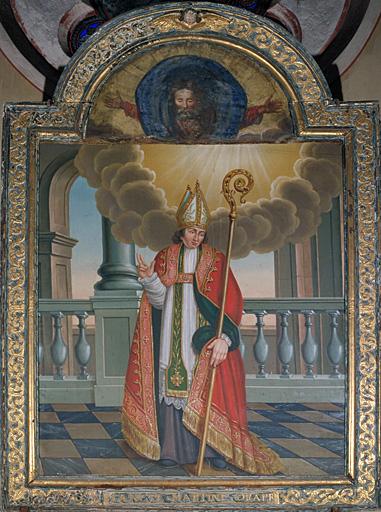 Tableau : saint Martin de Tours