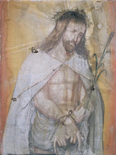 Tableau : Christ souffrant