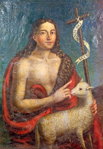 Tableau : saint Jean-Baptiste (1)