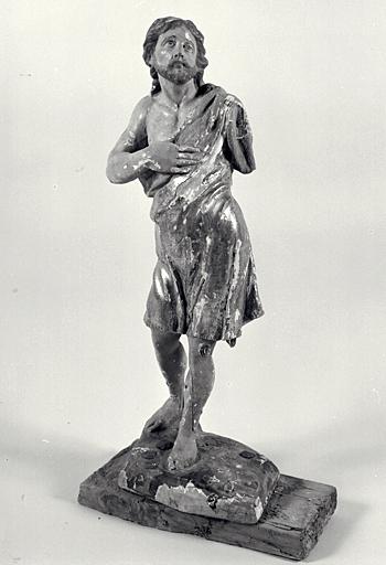 Statuette : saint Jean-Baptiste ?