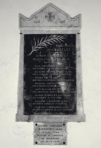 Le mobilier de l'église paroissiale de l'Invention-de-la-Croix
