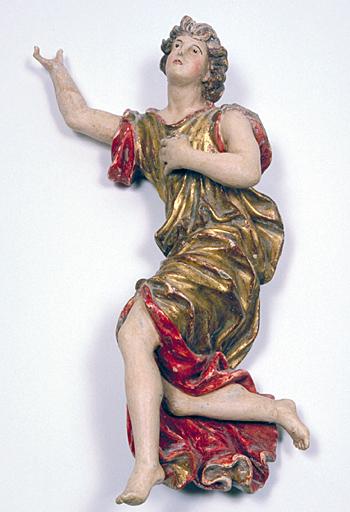 Statuette d'applique : ange