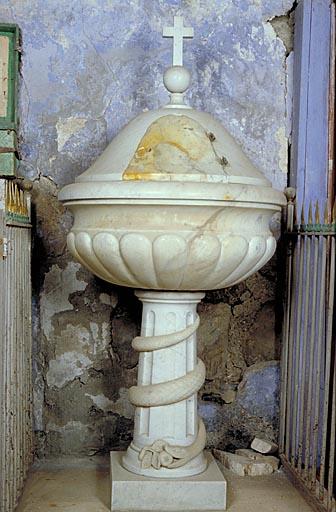 Fonts baptismaux (au sol)