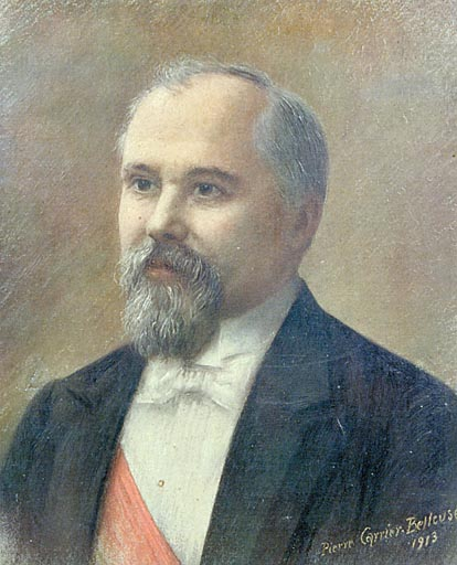 Tableau : portrait de Raymond Poincaré