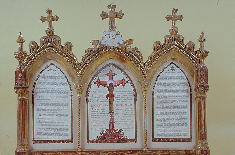 Canons d'autel