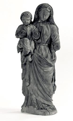 Statuette : Vierge à l'Enfant (n° 4).
