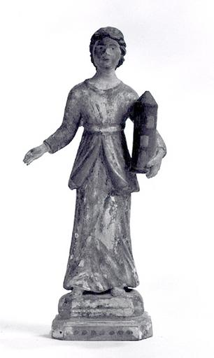 Statuette : Sainte Barbe.