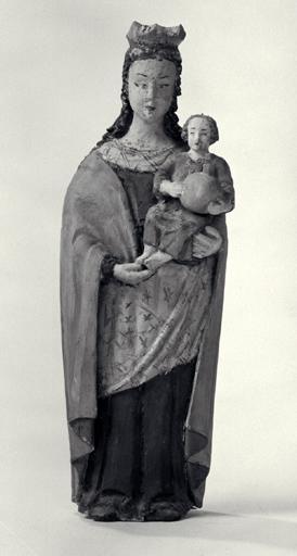 Statuette : Vierge à l'Enfant (n° 2).