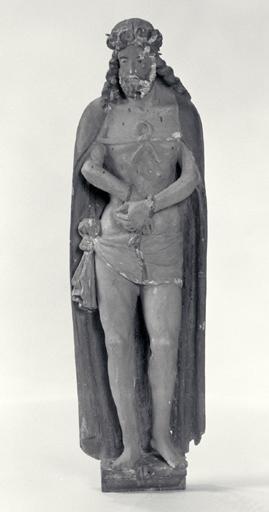 Statue (demi-nature) : Jésus présenté au peuple.
