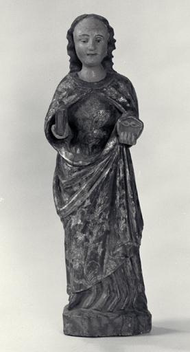 Statuette : Sainte Lucie.