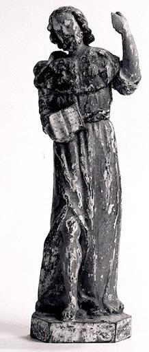 Statuette : Saint Jacques le Majeur.