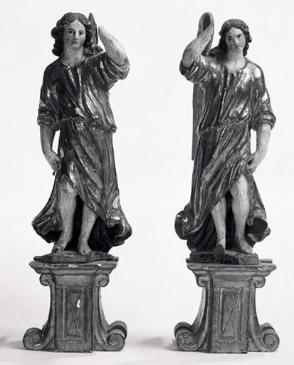 statues (2) : anges