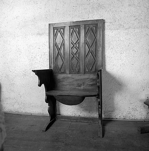 fauteuil de célébrant (?)