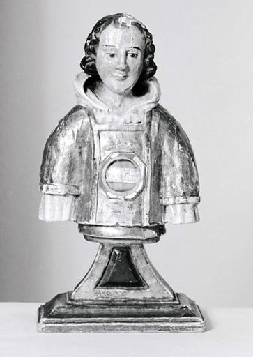 Buste-reliquaire de saint Vincent de Saragosse