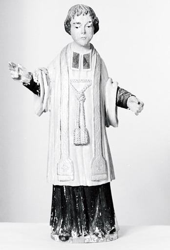Statuette : Saint Vincent de Saragosse