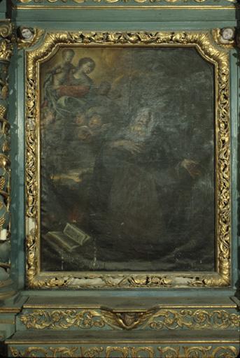 Tableau : Saint Antoine abbé, Vierge à l'Enfant.