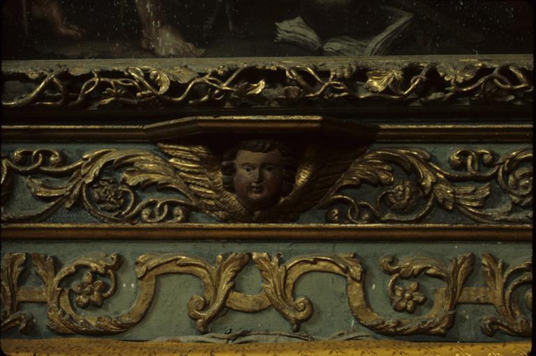 Retable (retable architecturé), retable du maître-autel.