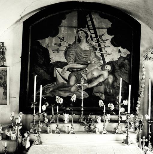 tableau : Vierge des Sept Douleurs et Vierge de Pitié