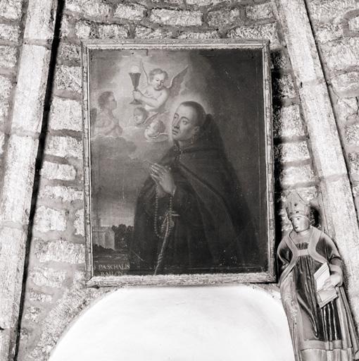 Tableau : Saint Pascal Baylon.