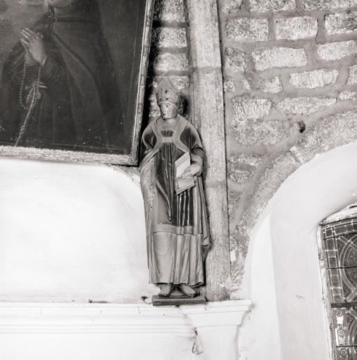 2 statues (petite nature) : Saint Claude?, Saint Chaffre?.