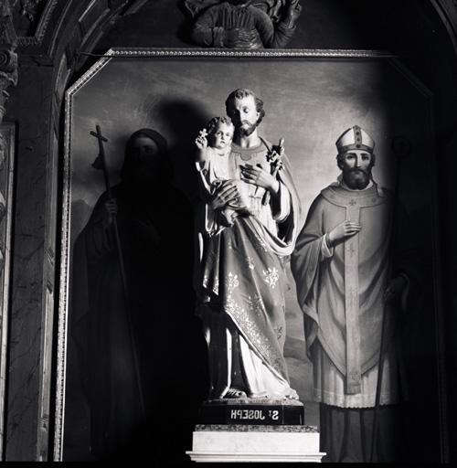 Statue (petite nature) : Saint Joseph.
