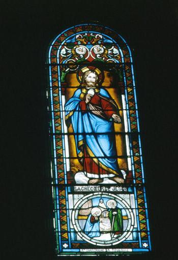 verrières (3) : Sacré Coeur de Jésus, Coeur de Marie, saint Laurent