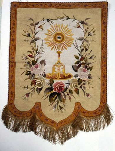 voile d'exposition du saint sacrement