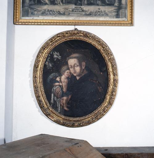 tableau : saint Antoine de Padoue