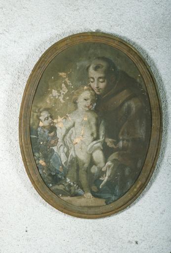 Tableau : Saint Antoine de Padoue.