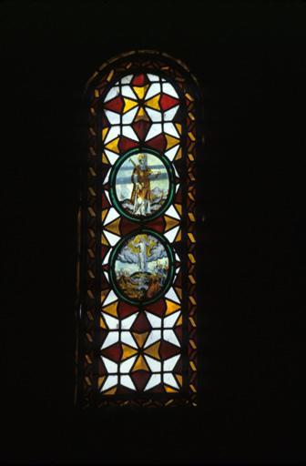 verrière : saint Etienne, Ascension
