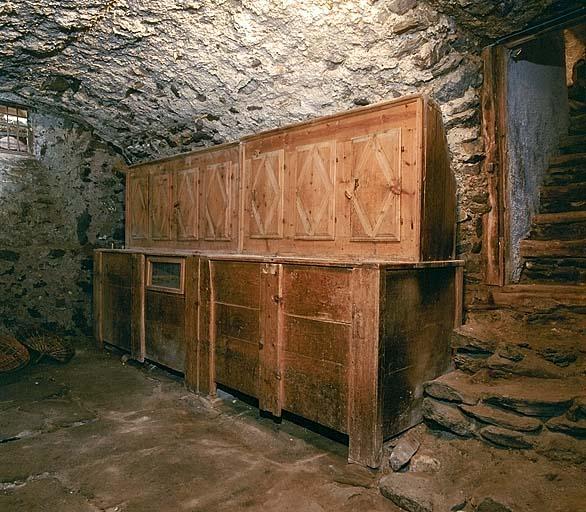 coffre-armoire à grains No 3