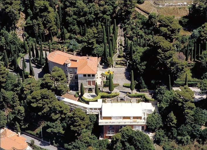 Jardin d'agrément de la villa Fiesole, puis villa Domergue