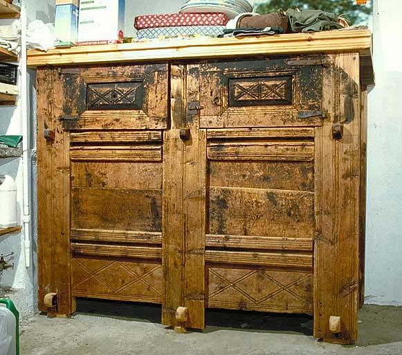coffre-armoire à grains No 8