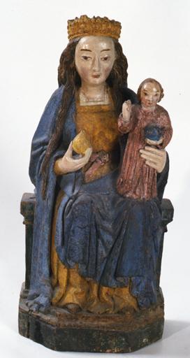 statue (statuette) : Vierge à l'Enfant, dite Vierge à la poire No 1