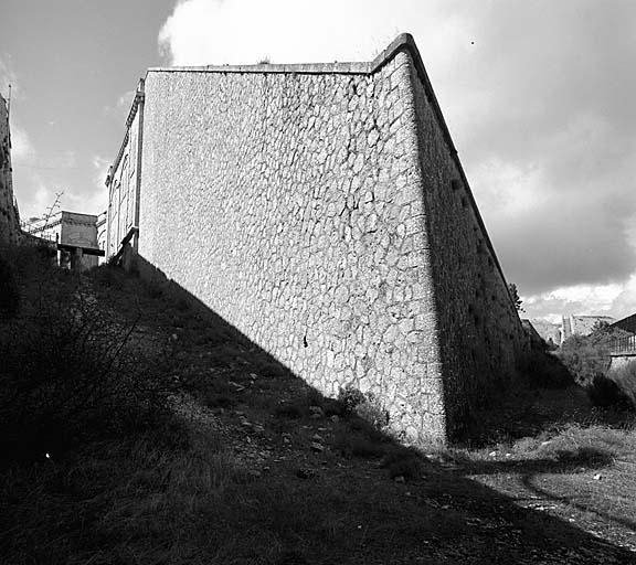 fort du Mont Chauve, de la place de Nice