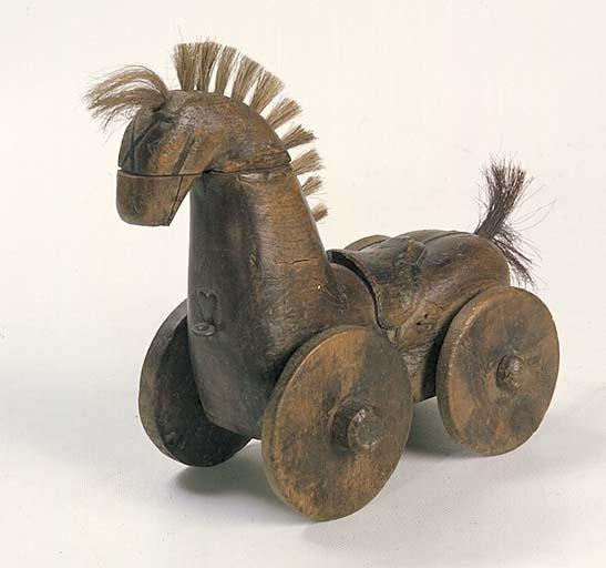 Jouet : cheval à roues No 2