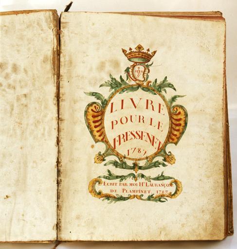 manuscrit : recueil de messes pour le Freyssinet