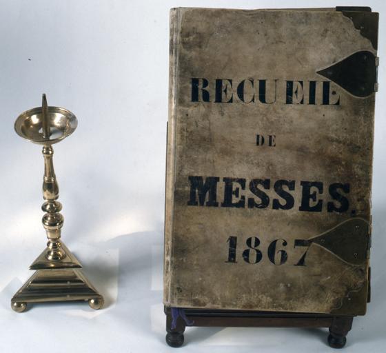Manuscrit, Recueil de messes de la chapelle Sainte-Madeleine.